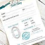 Tooth Fairy Free Printable Certificate   Free Tooth Fairy Printables