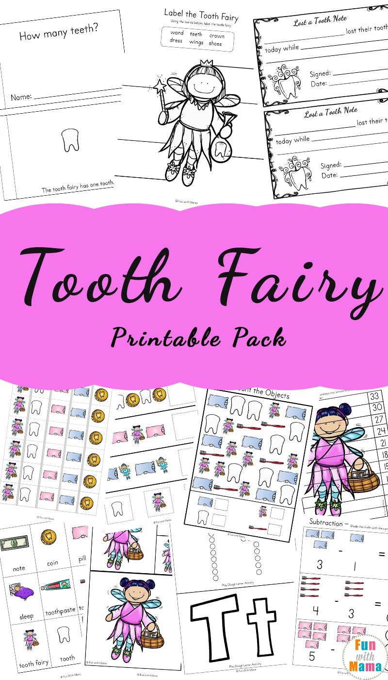 Tooth Fairy Ideas And Activities With Printable Tooth Fairy Letter - Free Printable Notes From The Tooth Fairy