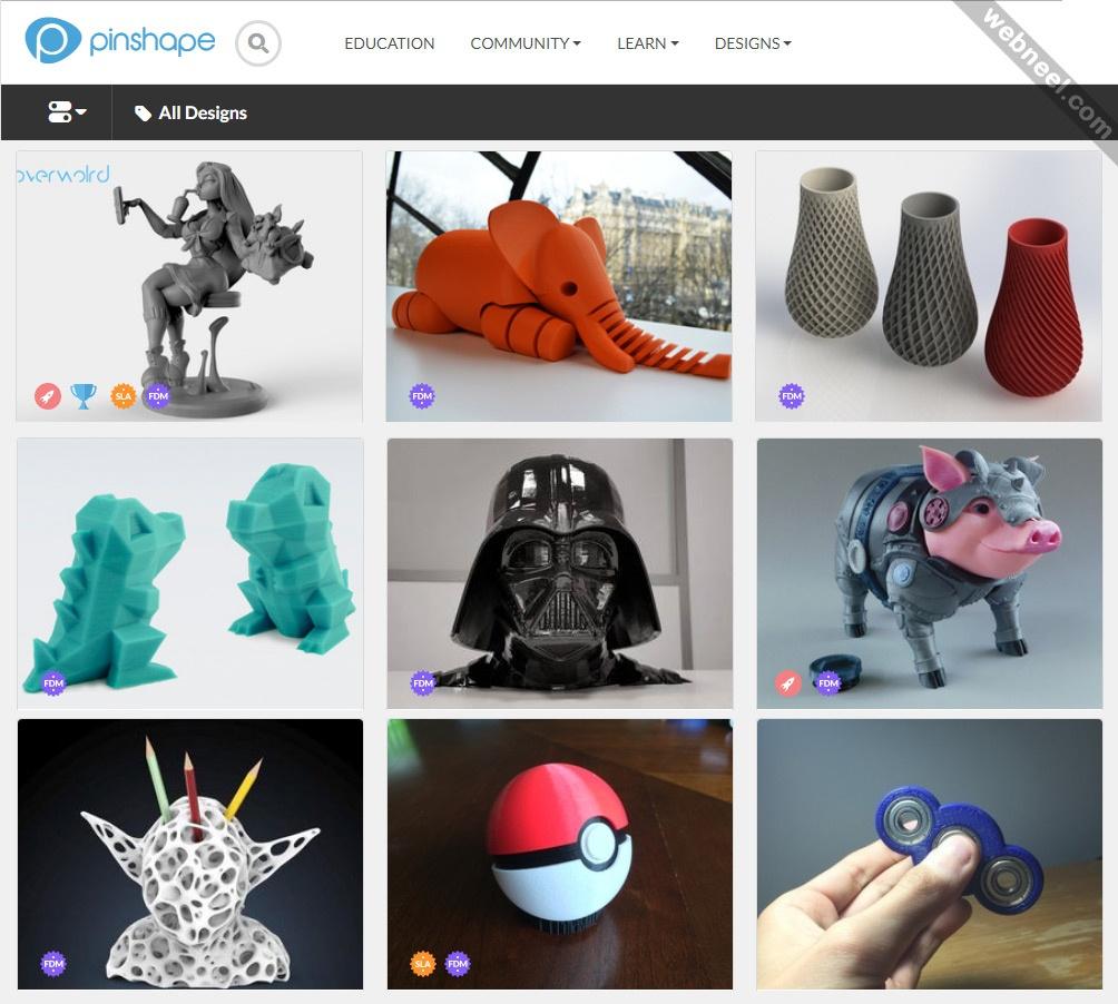 Top 10 Free 3D Printer Model Websites - Download Free Printable Models - Free 3D Printable Models