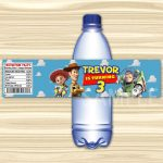 Toy Story Bottle Label.toy Story Water Label. Diy Toy Story | Etsy   Free Printable Toy Story Water Bottle Labels