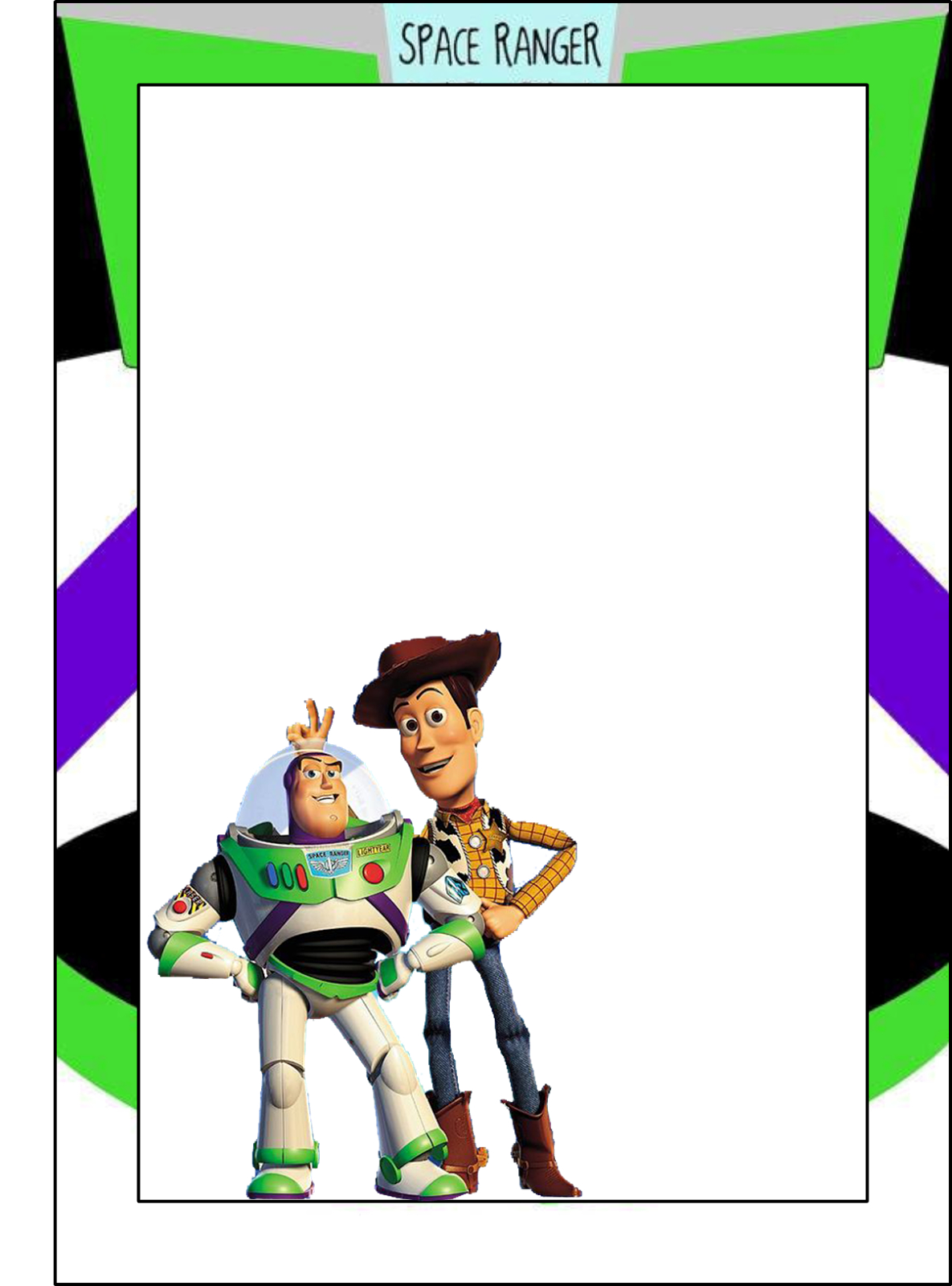 Toy Story: Free Printable Frames, Invitations Or Cards. | Dylans 2Nd - Free Printable Disney Stories
