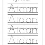 Trace Your Name Printables   Tutlin.psstech.co   Free Name Printables