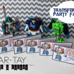 Transformer Party Favors   Party Like A Cherry   Transformers Party Invitations Free Printable