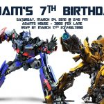 Transformers Birthday Invitation Template | Party   Alistairs 5Th   Transformers Party Invitations Free Printable