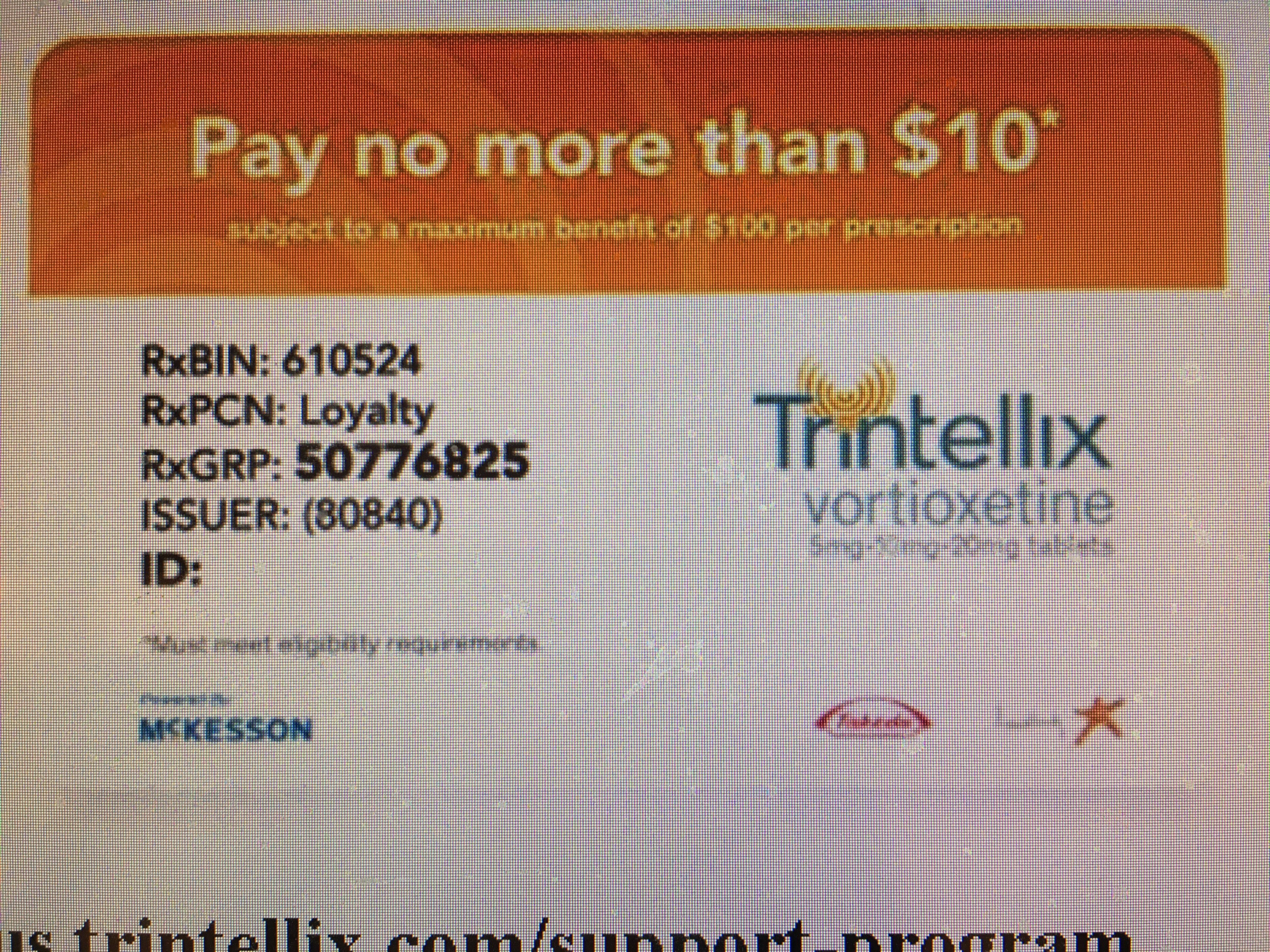 Trintellix - Pay No More Than $… | Drug Savings - Coupons And - Free Printable Spiriva Coupons