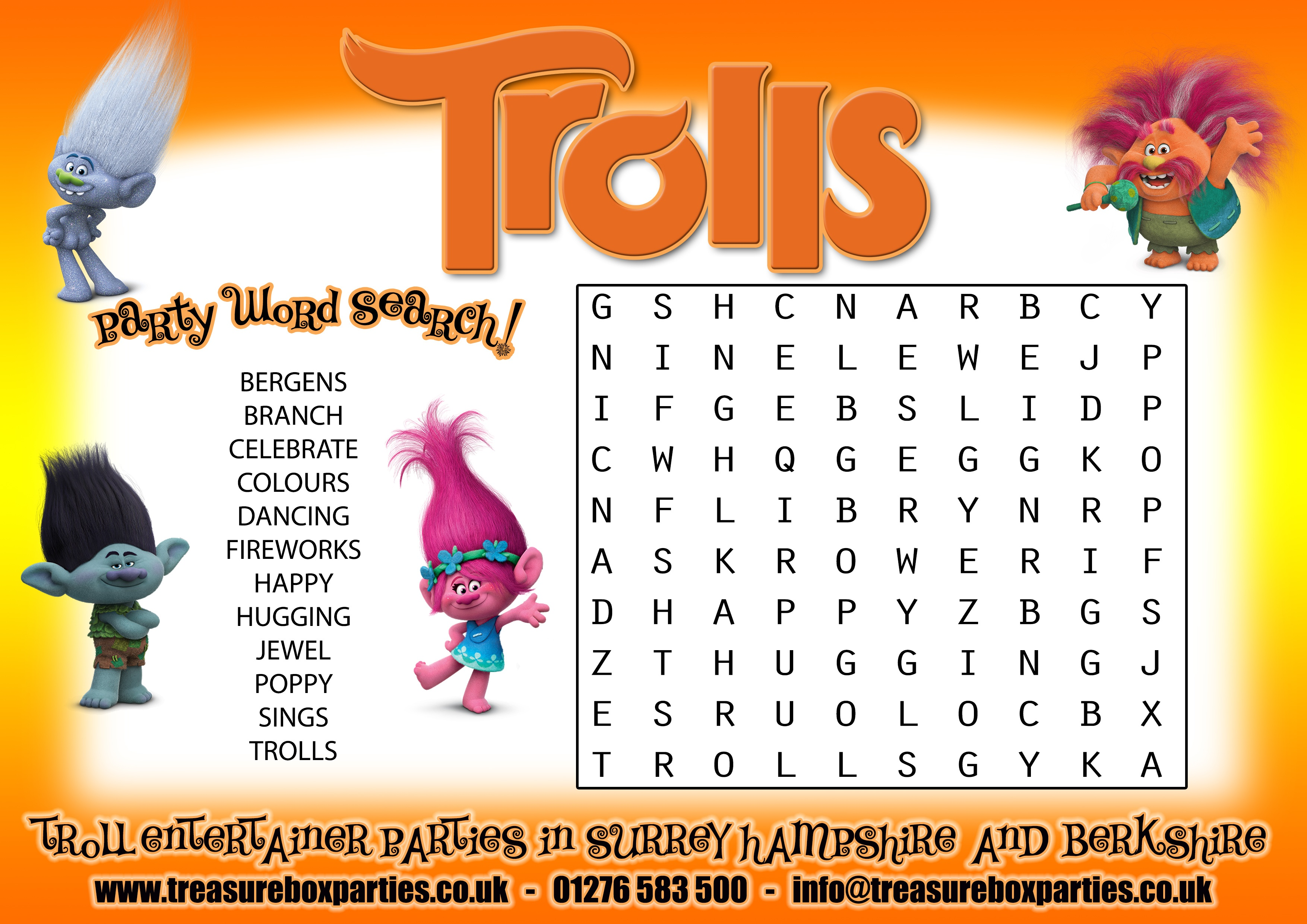 Trolls Free Printables (86+ Images In Collection) Page 1 - Free Trolls Printables