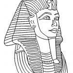 Tutankhamun Mask | Print. Color. Fun! Free Printables, Coloring   Free Printable Egyptian Masks