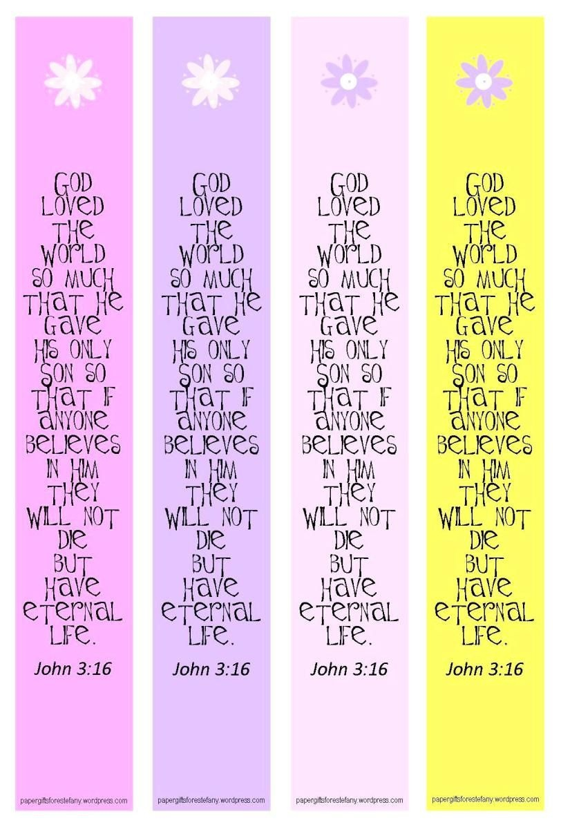 Tutorial ~ Make Your Own Bookmarks | Bookmarks | Free Printable - Free Printable Bookmarks With Bible Verses