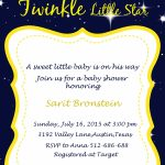 Twinkle Twinkle Baby Shower Ideas   My Practical Baby Shower Guide   Free Printable Twinkle Twinkle Little Star Baby Shower Invitations