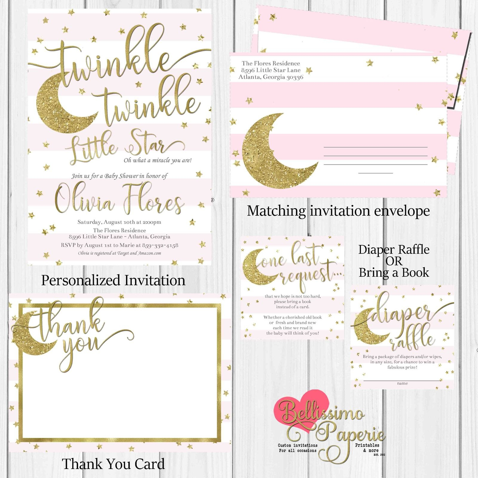 Twinkle Twinkle Little Star Baby Shower And 50 Similar Items - Twinkle Twinkle Little Star Baby Shower Free Printables