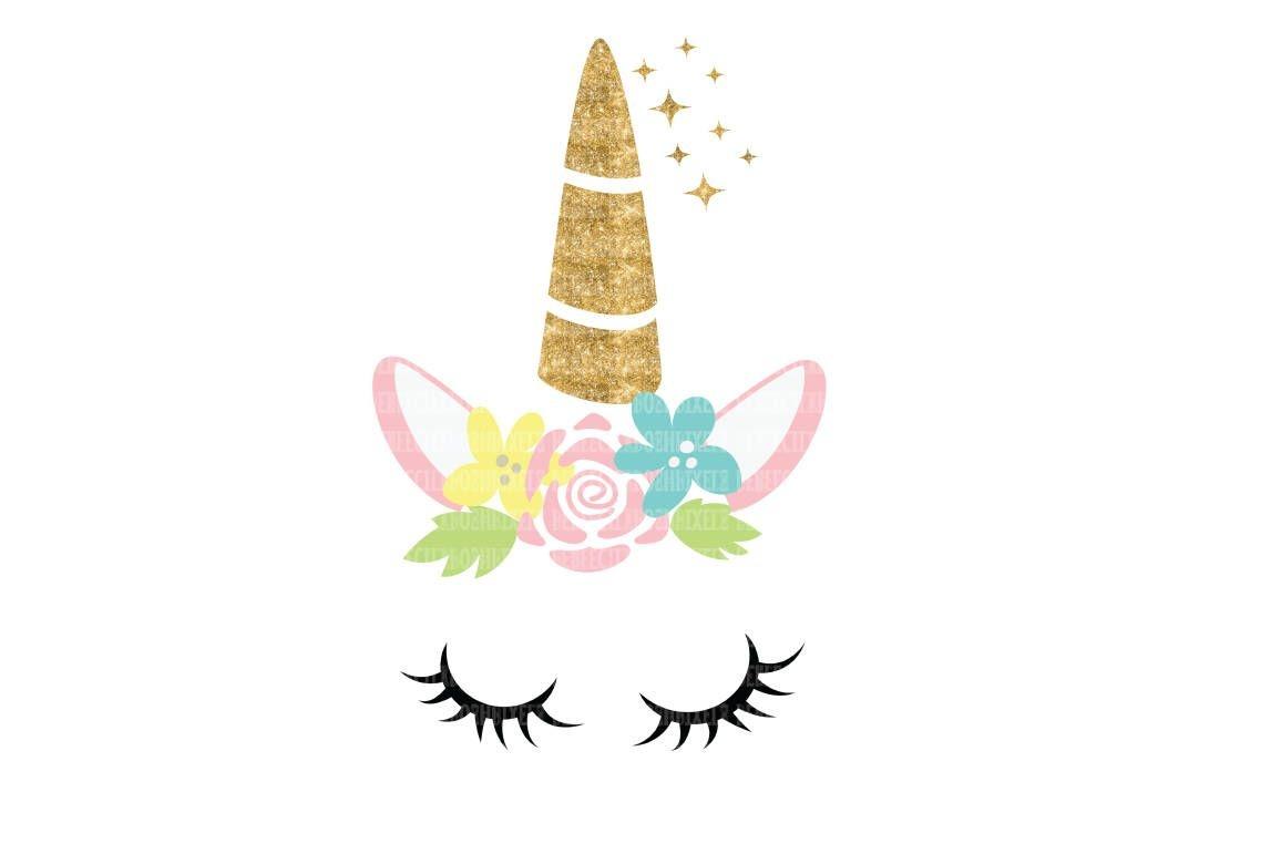 Unicorn, Eyelash, Unicorn Face, Clipart, Stencil Wall Decal, Png - Free Printable Unicorn Face Template