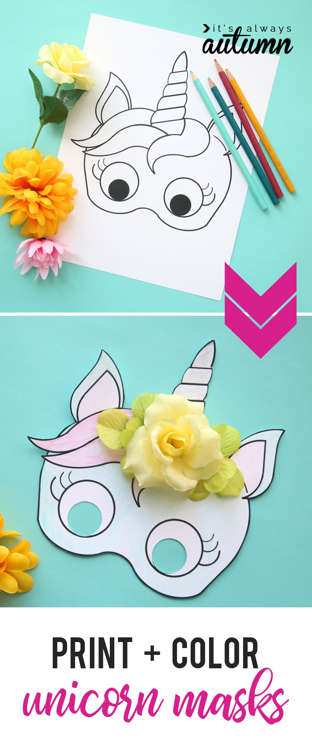 graphic relating to Free Printable Unicorn Mask known as Totally free Printable Paper Masks Totally free Printable