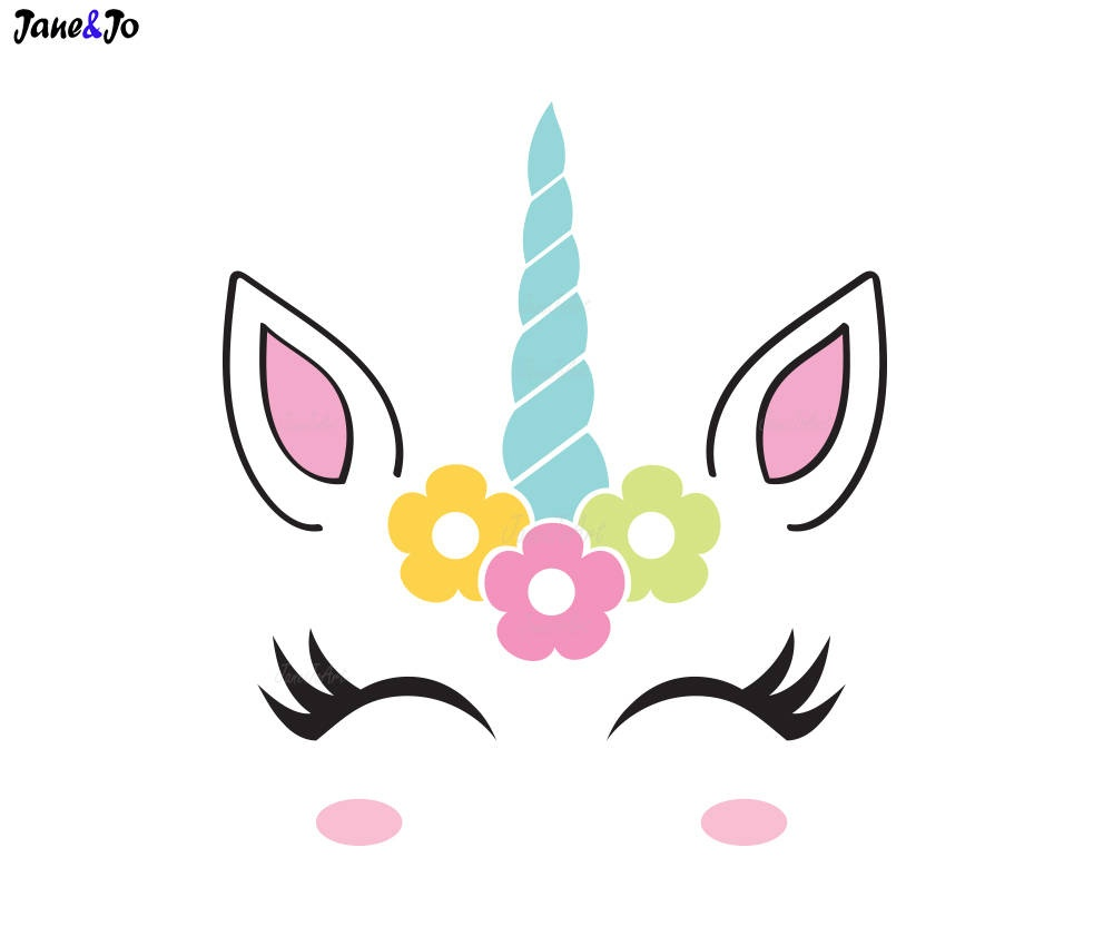 Unicorn Valentine Box With Free Printable Templates - Nanny To Mommy - Free Printable Unicorn Face Template