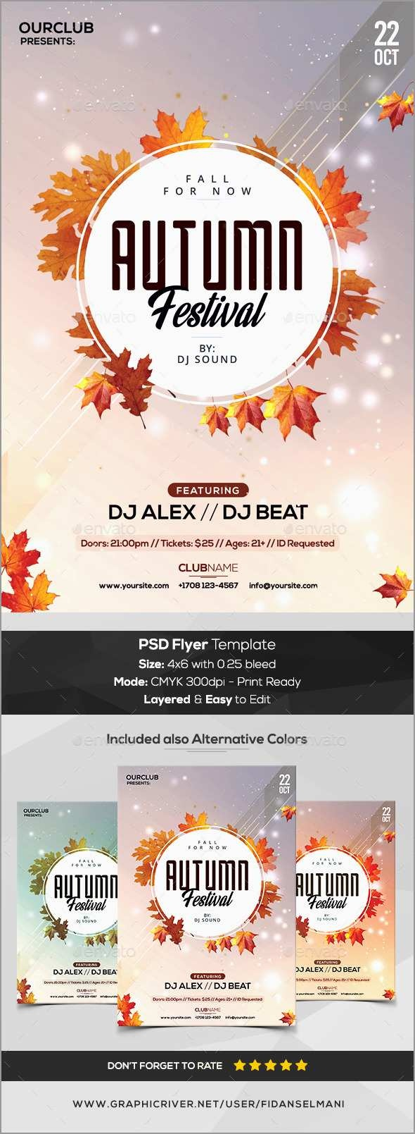 Unique Free Printable Fall Flyer Templates   Best Of Template - Free Printable Fall Flyer Templates