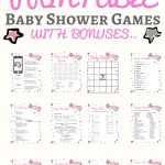 Unique Gender Reveal Party Ideas You Need For Your Shower   Free Printable Gender Reveal Games