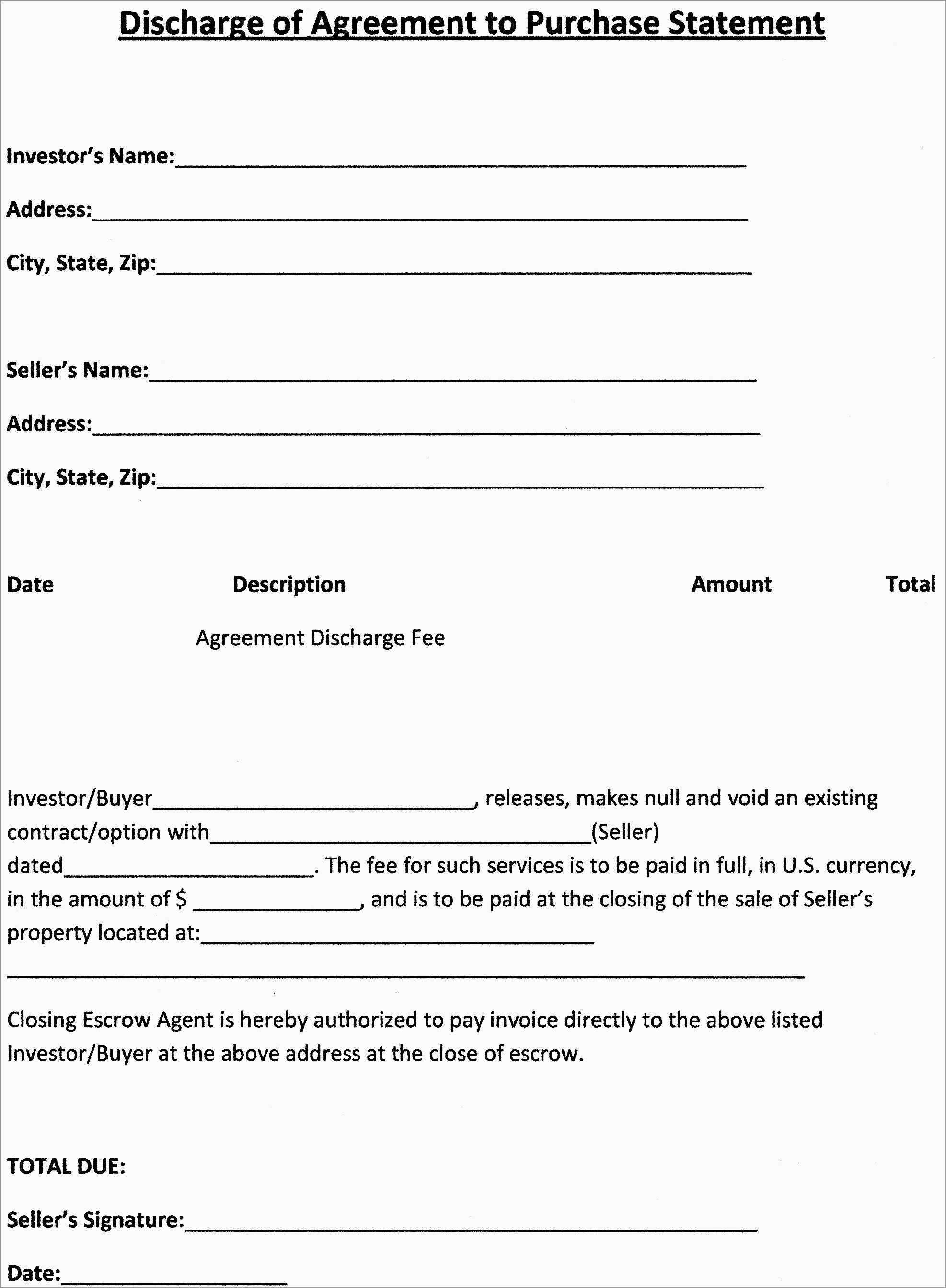 Unique Real Estate Purchase Contract Template Free | Best Of Template - Free Printable Real Estate Purchase Agreement