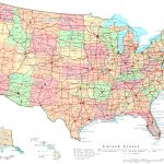 United States Printable Map   Free Printable Map Of United States With States Labeled