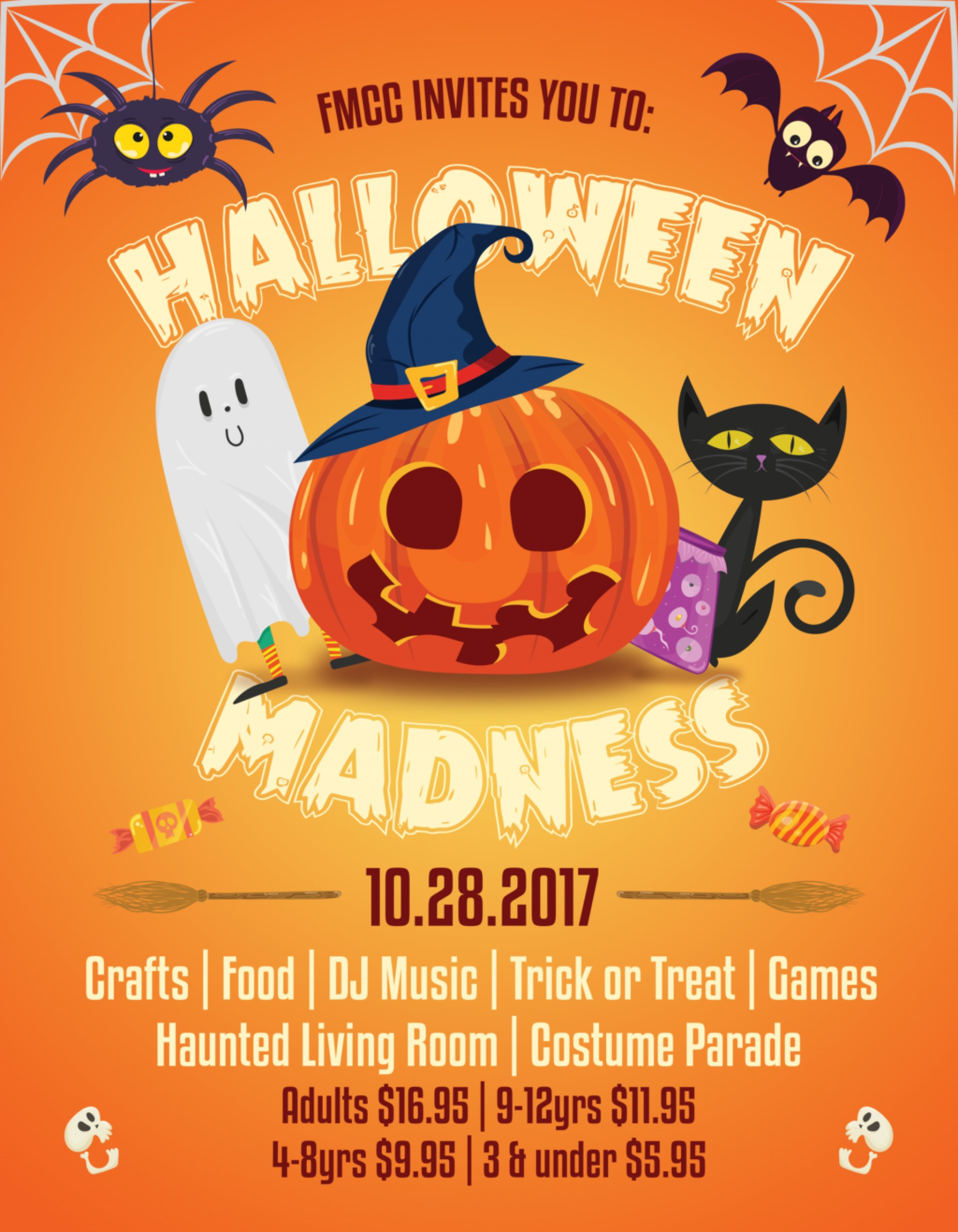 Unusual Free Printable Halloween Flyer Templates Template Ideas - Free Printable Halloween Flyer Templates