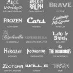Updated: 59 Free Disney Fonts (June 2019 Edition)   Free Printable Disney Font Stencils