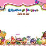 Updated   Free Printable Shopkins Birthday Invitation | Free   Shopkins Thank You Cards Free Printable