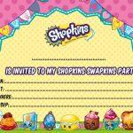Updated   Free Printable Shopkins Birthday Invitation Template   Free Printable Shopkins Invitations
