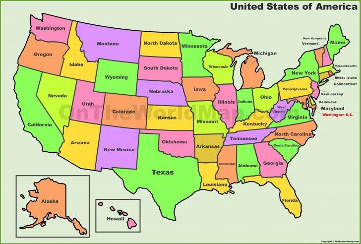 Free Printable Usa Map