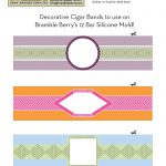 Use Our Free Label File To Print Out And Make Your Own Cigar Band   Free Printable Cigar Label Template