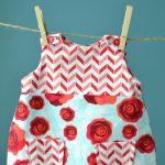 Use This Free Printable Pdf Pattern To Make A Diy Lined Baby Dress   Free Printable Toddler Dress Patterns
