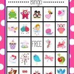 Valentine's Bingo Game To Print & Play | Valentine's Day Activities   Free Printable Valentines Bingo