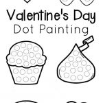 Valentine's Day Dot Painting | The Resourceful Mama | Valentines Day   Do A Dot Art Pages Free Printable