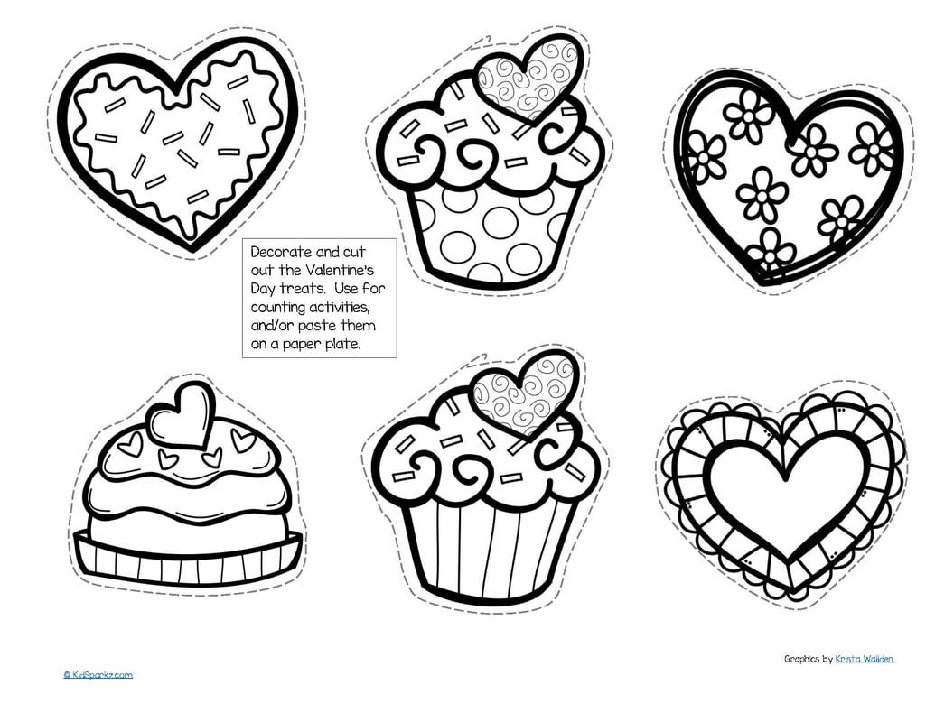 Valentine's Day Theme Activities And Printables For Preschool, Pre-K - Free Printable Valentine Activities For Kindergarten