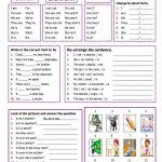 Verb To Be Worksheet   Free Esl Printable Worksheets Madeteachers   Free Printable Esl Worksheets