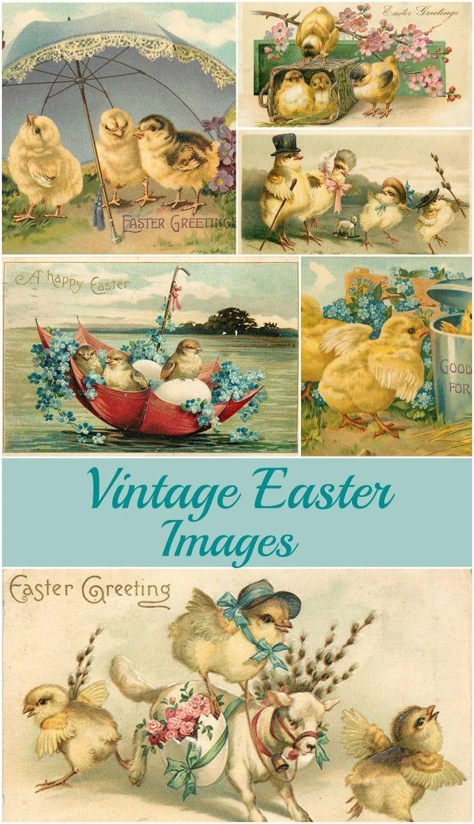 Vintage Easter Images: Adorable Free Printables - House Of Hawthornes - Free Printable Vintage Easter Images