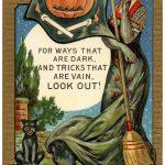 Vintage Halloween Postcard Image   The Graphics Fairy   Free Printable Vintage Halloween Images