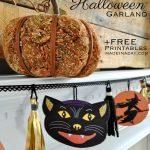 Vintage Halloween Printable Garland   Free Printable Vintage Halloween Images