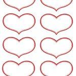 Vintage Valentine Printable   Antique Heart Labels | Diy Ideas   Free Printable Heart Labels