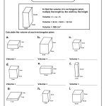 Volume Of Rectangular Prism Worksheet | Volume Worksheets | Math   Free Printable Volume Of Rectangular Prism Worksheets