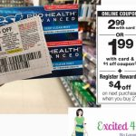 Walgreens 6/16   6/22   Crest Toothpaste As Low As Free   Excited 4   Free Printable Crest Coupons