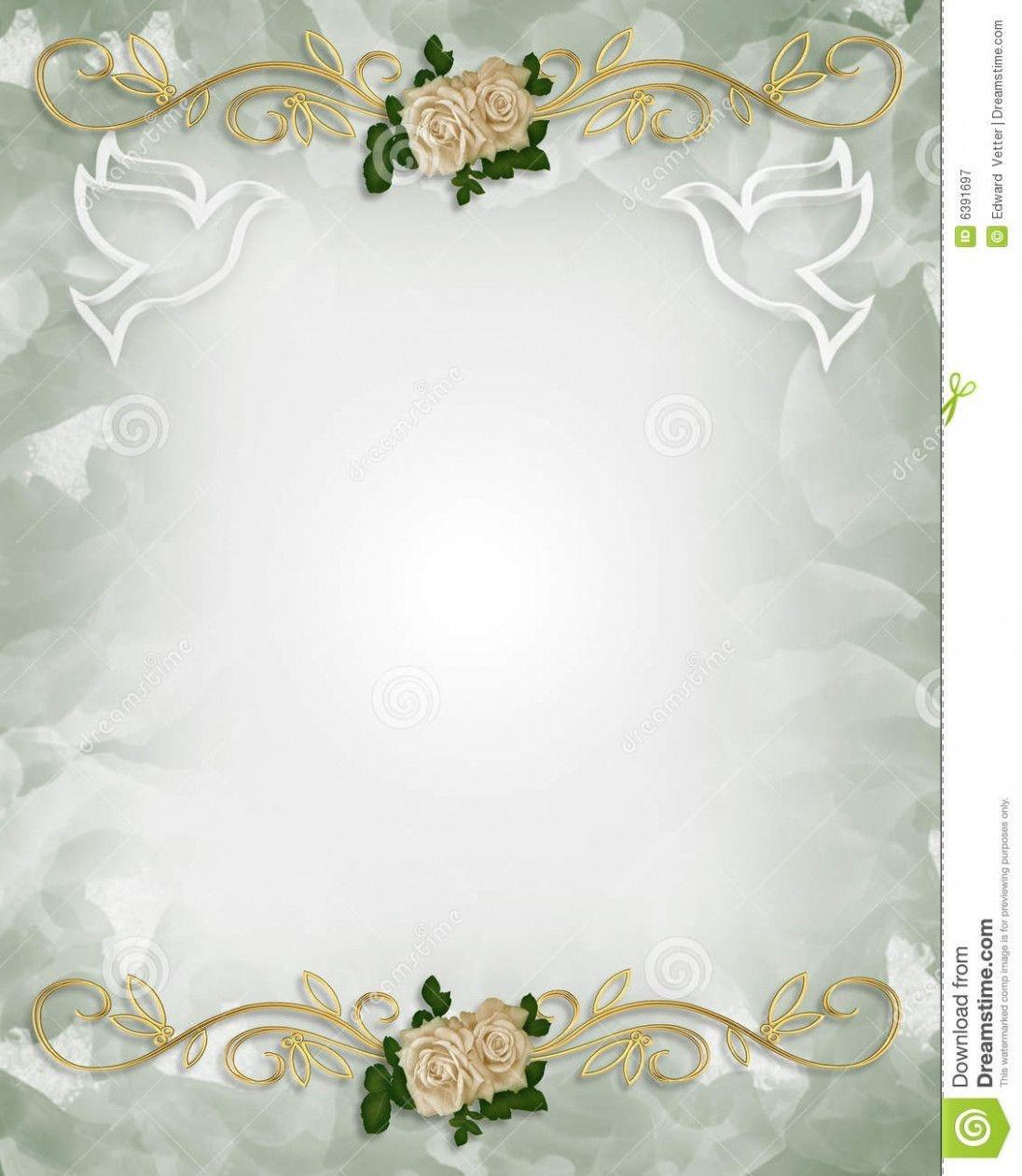 Wedding Card Vintage Free Printable   Invitation   Free Wedding - Free Printable Background Designs