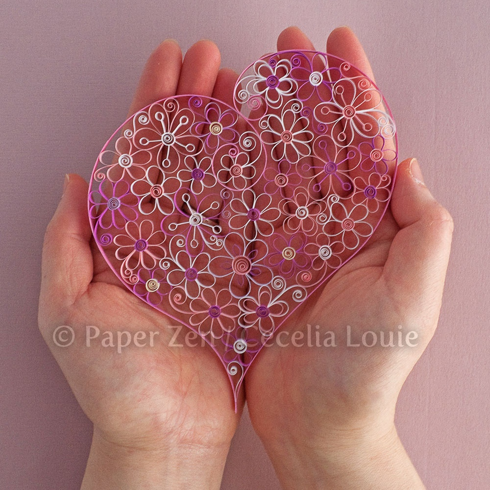 Welcome To Paper Zen ~ Cecelia Louie: Quilling Flower Pattern Update - Free Printable Quilling Patterns Designs