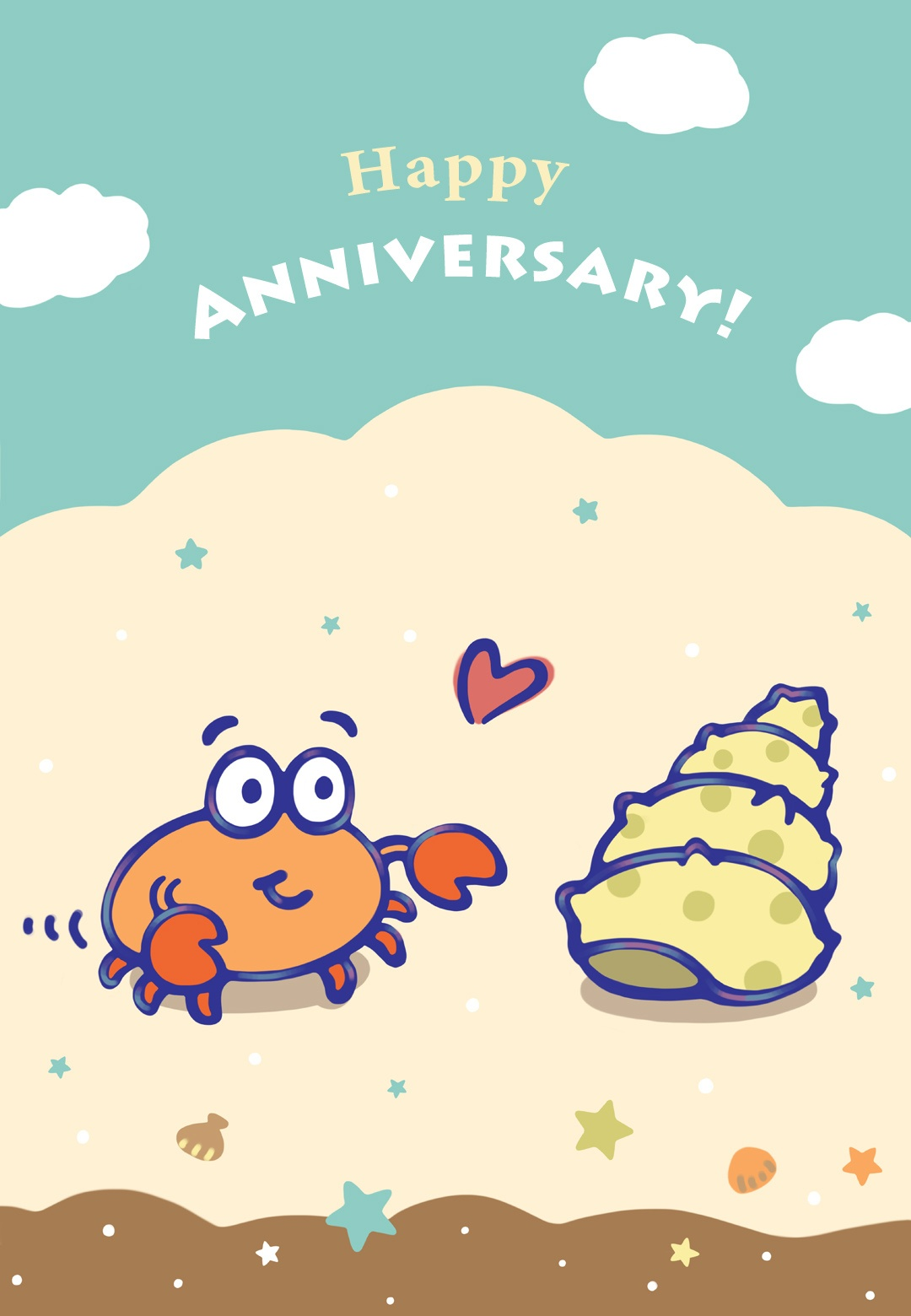 When I Found You - Happy Anniversary Card (Free) | Greetings Island - Printable Cards Free Anniversary