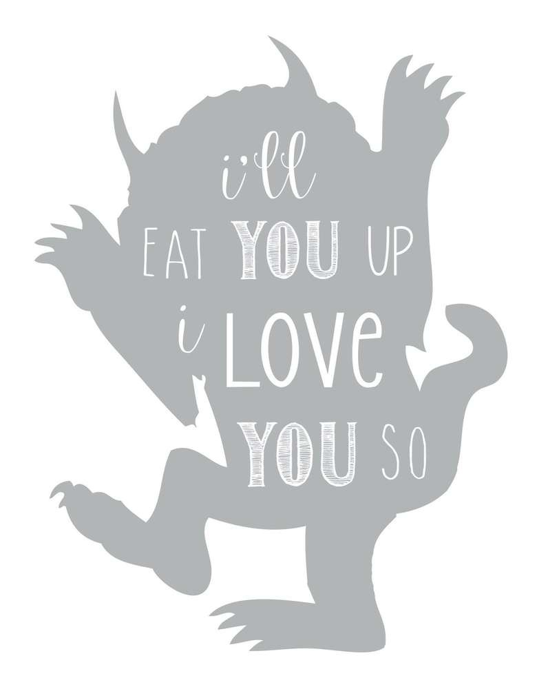 Where The Wild Things Are Printables For Free (75+ Images In - Where The Wild Things Are Free Printables