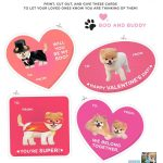 Will You Be My Boo? Free Printable Valentines, Featuring The World's   Free Printable Dog Valentines Day Cards