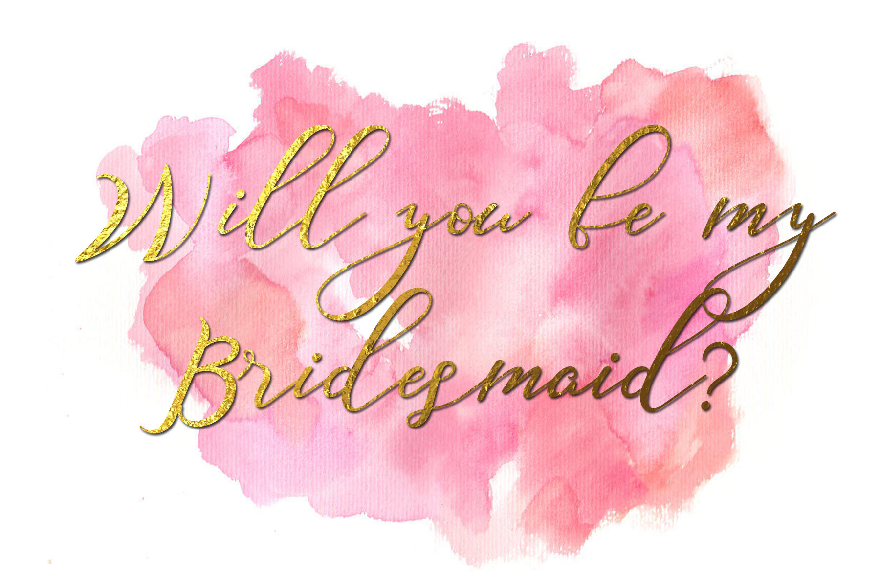 Will You Be My Bridesmaid Free Printable 1 6 X 4 • Fleurieu Weddings - Will You Be My Bridesmaid Free Printable