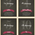 Wine Bottle Anniversary Labels Free Printable   How To Nest For Less™   Free Anniversary Printables