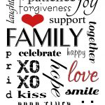 Winnerdogfinds: Free Printable Family Subway Art   Free Printable Subway Art Template