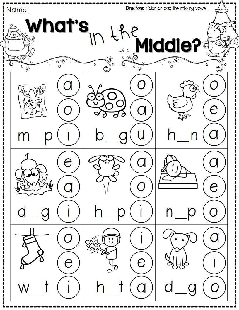 Winter Activities For Kindergarten Free | Reading | Pinterest - Free Printable Worksheets For Kids