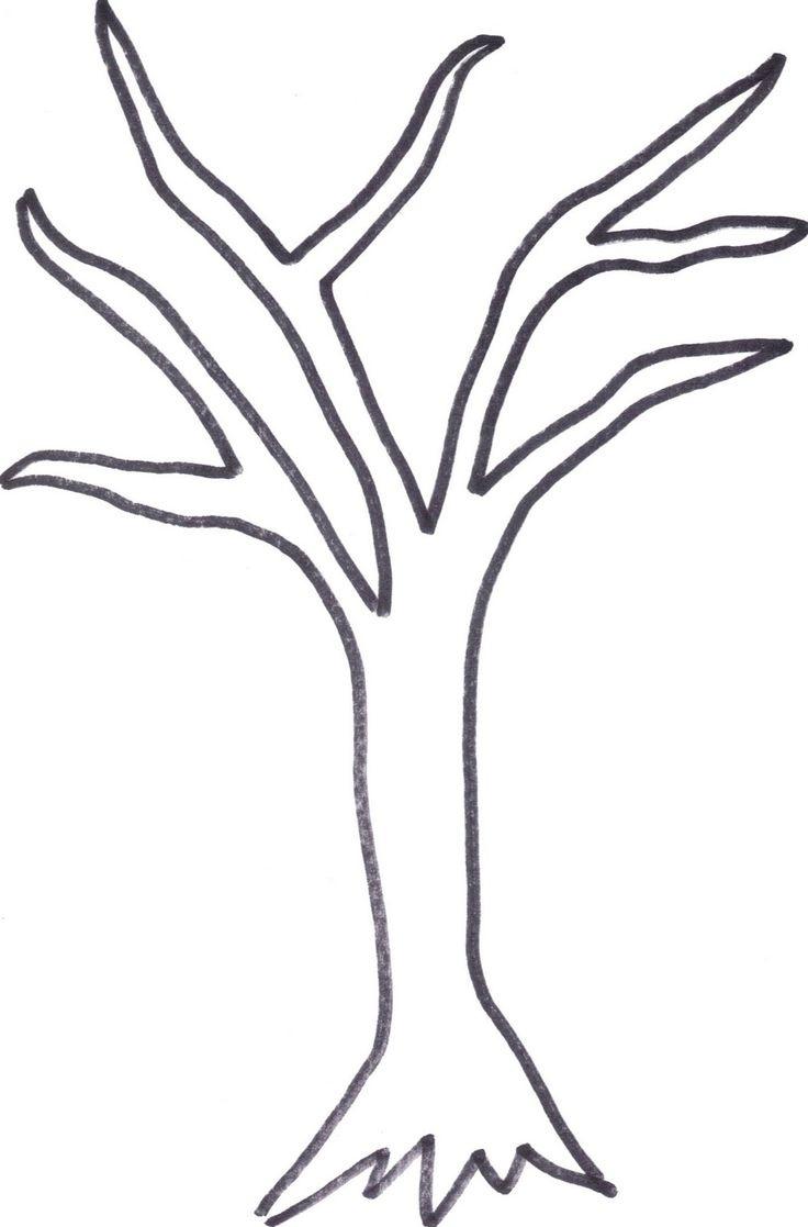 Winter Tree Templates - Kaza.psstech.co - Free Printable Palm Tree Template