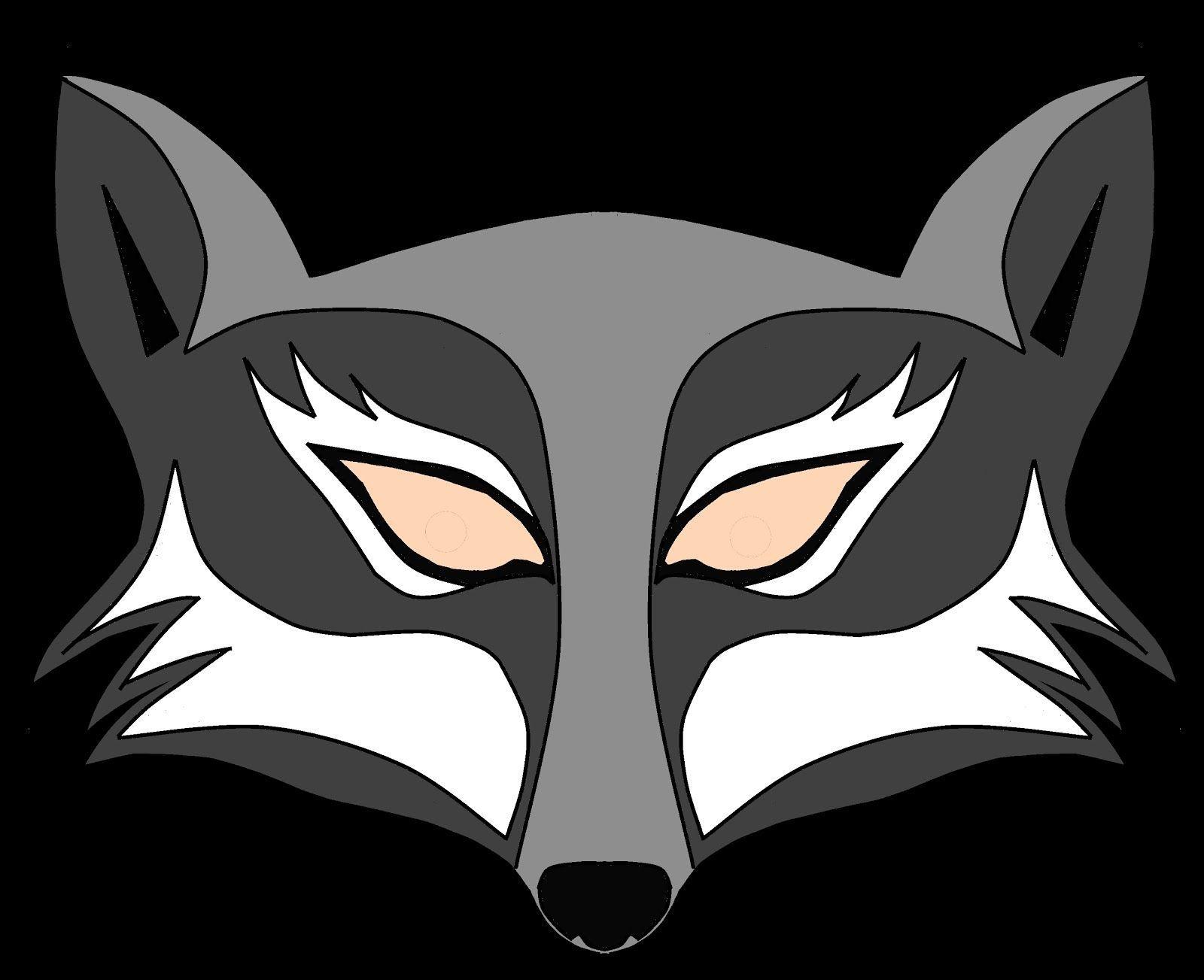 Wolf Mask Template Printable. Mask On Pinterest Leather Mask Mens - Free Printable Wolf Mask