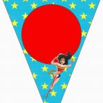 Wonder Woman: Free Party Printables.   Oh My Fiesta! For Geeks   Free Wonder Woman Printables